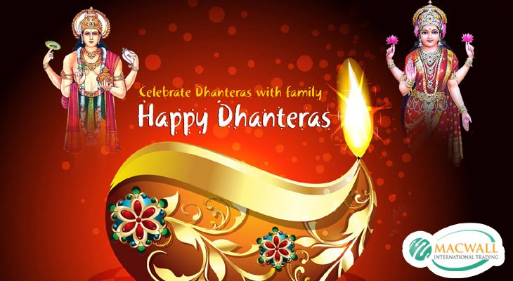 May this #Dhanteras Festival Wishing you with happiness, Wealth & Prosperity As you journey towards greater success Happy Dhanteras 2016!