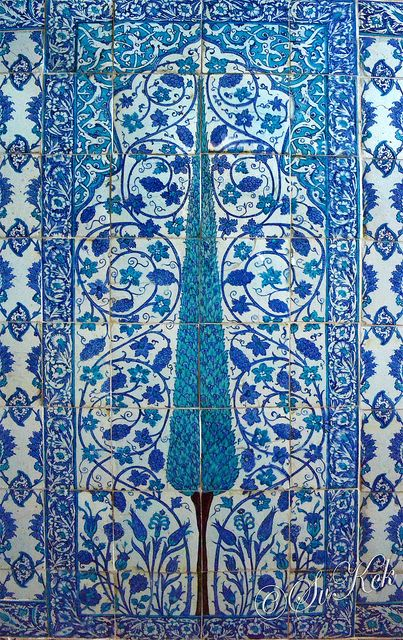 Tree of Life, Imperial Pavilion of The New Mosque - Istanbul