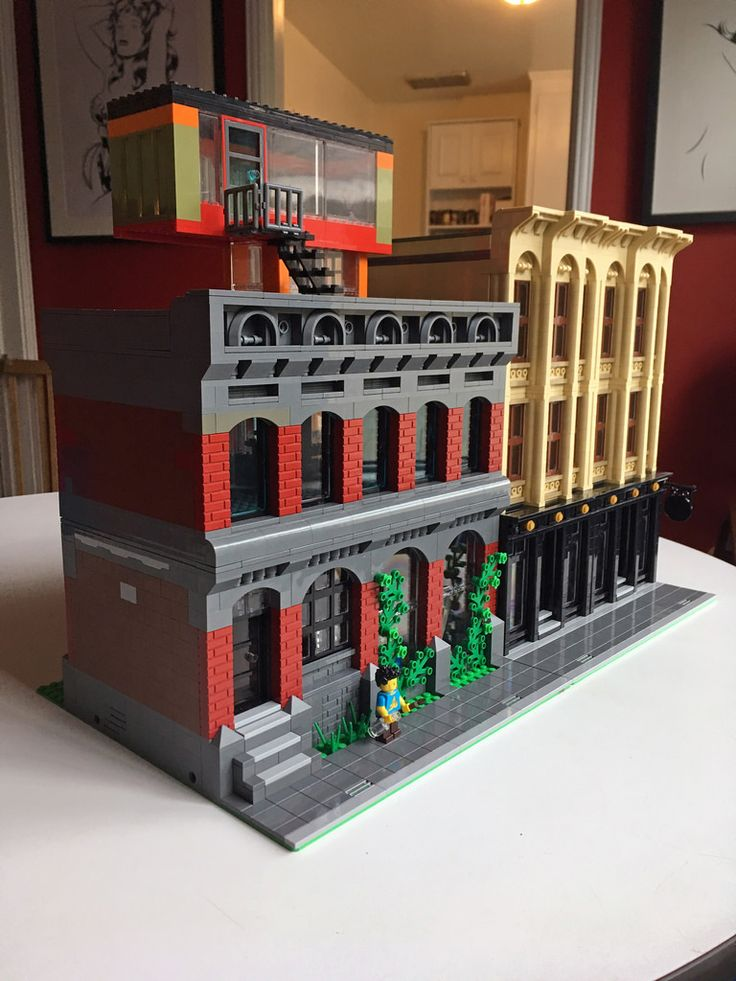 lego imperial hotel instructions