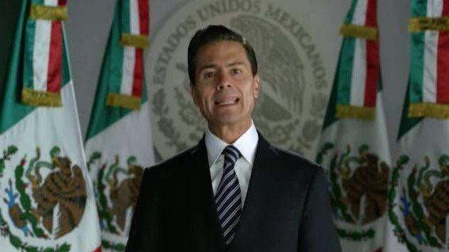 En un mensaje dirigido a la sociedad a través de los medios de comunicación con motivo del Año Nuevo, el presidente Enrique Peña Nieto reivindicó de nuevo la decisión del ...
