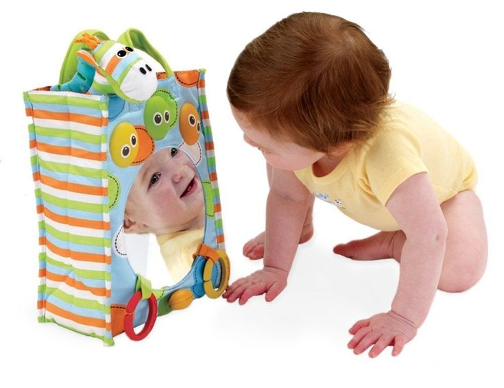 Baby Musical Toy: Carry Along Tote With Mirror And Giraffe Plush Toy #Yookidoo