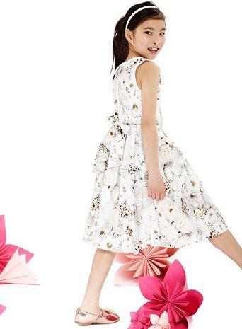Lovely flower print dress from BHS!