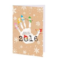 Lustige Neujahrskarten - der Hilfsorganisation Klinik-Clowns