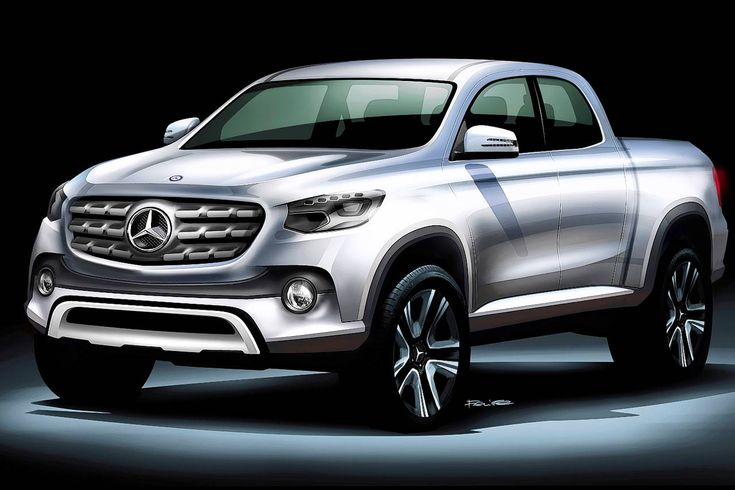 Mercedes-Benz tendría en planes lanzar una pick up de lujo