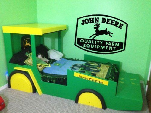 John Deere Vinyl Wall Decal Sticker #LuckyGirlDecals #beautiful #budget #custom #cute #decal #decals #decor #decorating #design #family #fun #gifts #graphics #happy #home #homedecor #interiordecorating #interiordesign #lettering #letters #love #luckygirldecals #oracal631 #personalized #pretty #quote #quotes #remarkablewalls #sticker #stickers #style #vinyl #vinyldecal #vinylfilm #vinylwalldecal #wall #wallart #walldecal #walldecor #wallquote #wallquotes