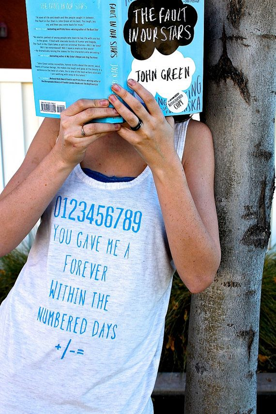 John Green The Fault in our Stars Quote by AppraisingPagesShop, $23.50