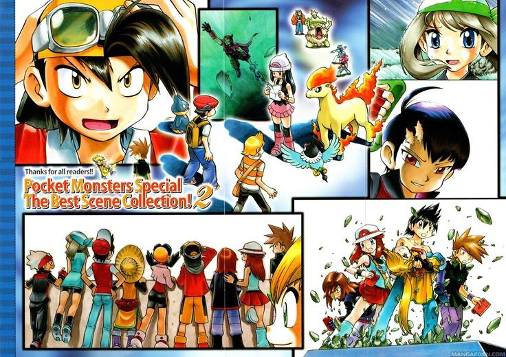 Manga Pokemon Adventures