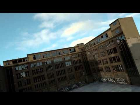 Time-Lapse CG Animation, Abandoned Apartments - Using Hyperfocal's Time-Lapse HDRI Sky Domes