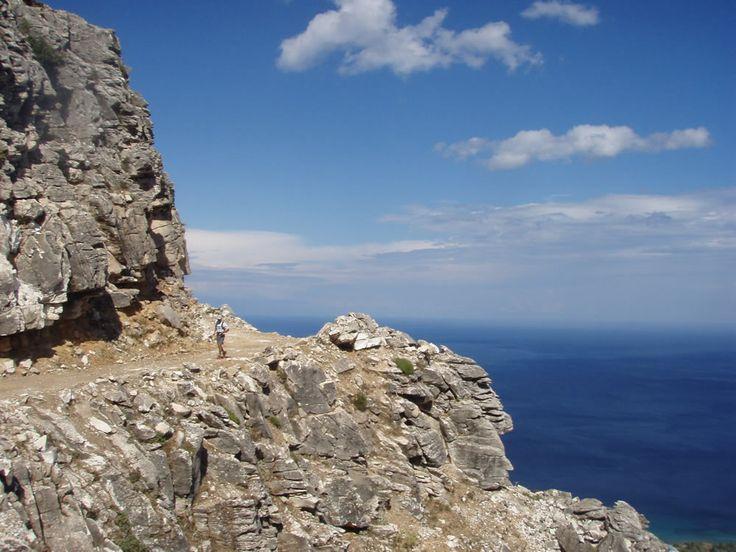 Go hiking on Thassos!
