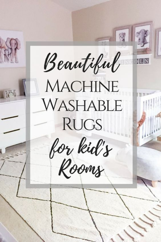 Kid Friendly Rugs That Are Actually Stylish