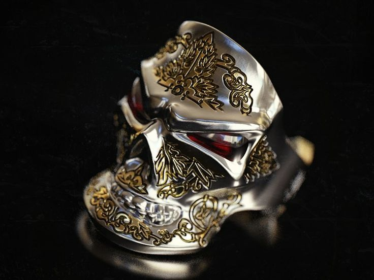 """The grining skull"" ring/ Перстень ""череп с ухмылкой"" #garnet #гранат #жёлтоезолото #белоезолото #перстень #кольцо #золото #череп#украшения #украшениядлямужчин #стиль #ювелирныеизделия #ювелирныеукрашения #длямужчин #кольца #yellowgold #gold #ring #jewelryformen #jewellery #formen #menstuff #gentsring #mensjewelry #styleformen #menstyle #jewelrygram #accessories #whitegold #franguebyzverev"