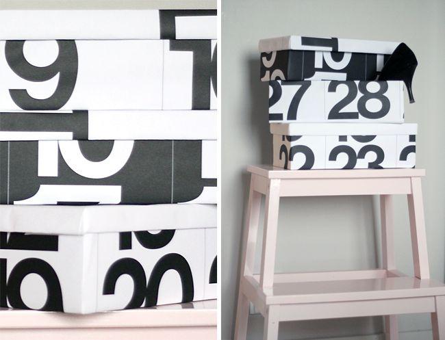 Pinjacolada: So last year shoe boxes DIY