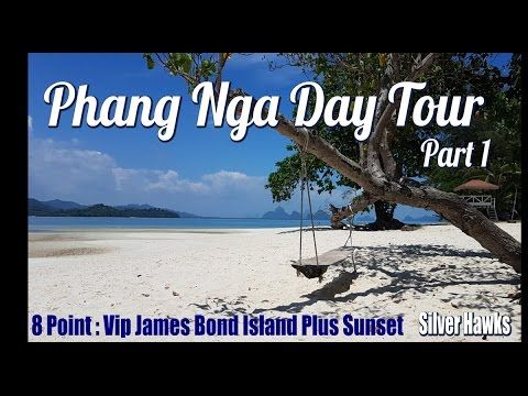 Phang Nga Tour | 8 Point: VIP James Bond Island and Sunset | Silver Hawk...