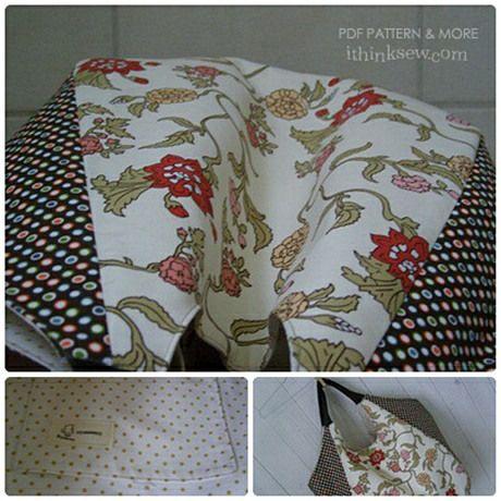 50 Shoulder Bag PDF Pattern - ithinksew.com