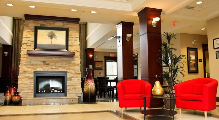 Staybridge Suites London London Near Highway 401 and just 3 km from White Oaks Mall, this hotel in London, Ontario, offers all-suite accommodations furnished with full kitchens. An indoor pool is featured on site.