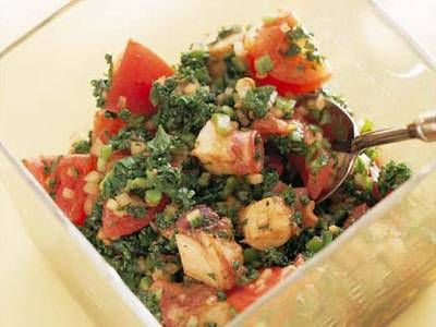 たことトマトのサラダ Quick Easy Side Dish 春のベストレシピ    KNR 2014March
