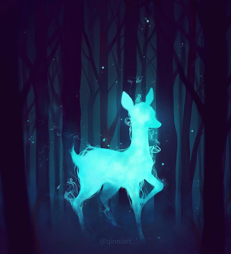 """""Always""  close up.  I actually really liked the way this doe patronus turned out, hope you guys don't mind a closeup ☺️"""