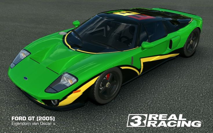 Pin By Oscar Van Son On My Cars On Real Racing 3 Ford Gt 2005 Ford Gt Real Racing