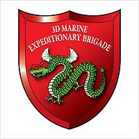 """3rd Marine Expeditionary Brigade is a USMC unit that is the """"middleweight"""" crises response force of choice in the Pacific Area of Operation. It is the Marine Corps' only permanently forward-deployed Brigade sized Marine Air-Ground Task Force, is a force in readiness able to deploy rapidly by any and all means and conduct operations across the spectrum from humanitarian assistance and disaster relief to amphibious assault and high intensity combat."""