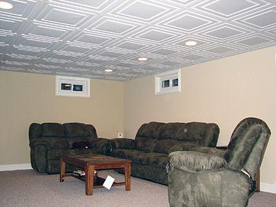 Basement Ceiling Ideas For Low Ceilings
