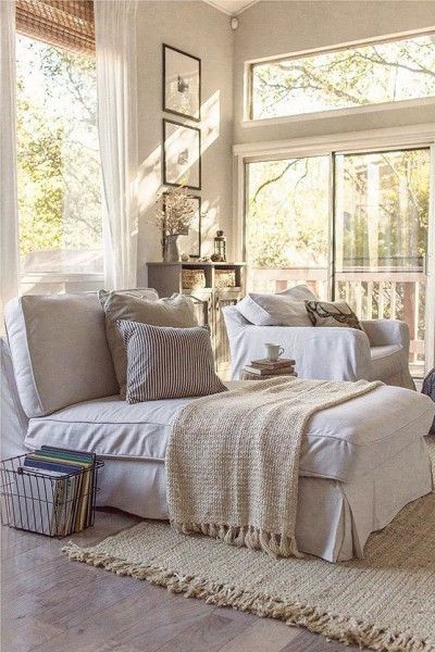 When furnishing a relaxed living environment, use reclaimed timbers to add character and laid-back elegance. #FieldNotes #LivingRoom #InteriorStyling #Timber #Neutrals