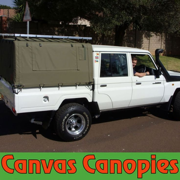 Contact Kallie for a custom made canvas canopy of your very own. Picture yourself in that driver's seat! http://qoo.ly/mntk6  #CBCC #Canvas #Canvas Canopy #Bakkie #Vehicle #RoadTrip #Camping #Outdoors #Adventure #Rugged #Terrain