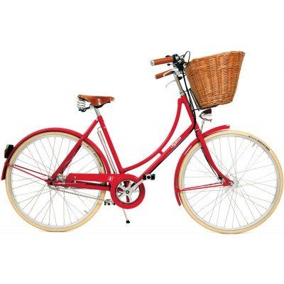 Pashley Britannia damesykkel - Rød