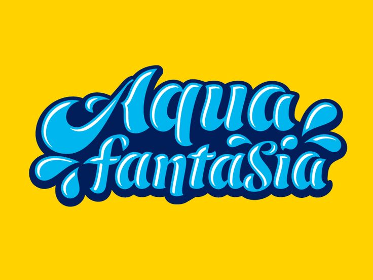 Fun letters for a group of hotels that have aquatic facilities.  You can view it @2x for more details.