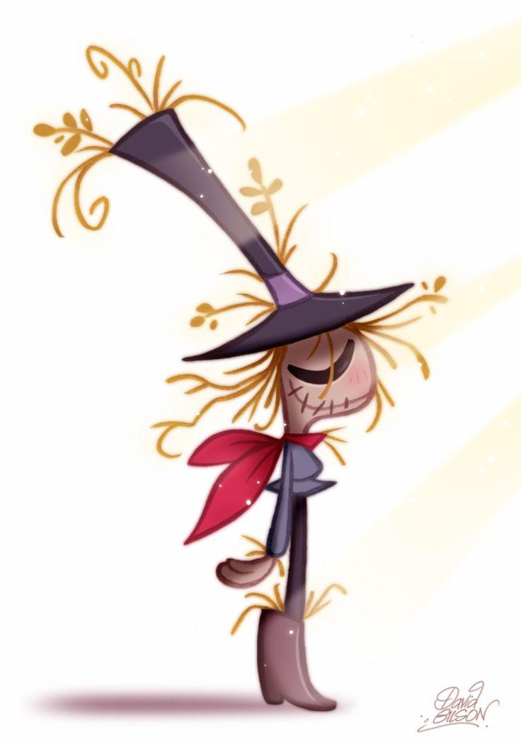 David Gilson: Scarecrow from Oz