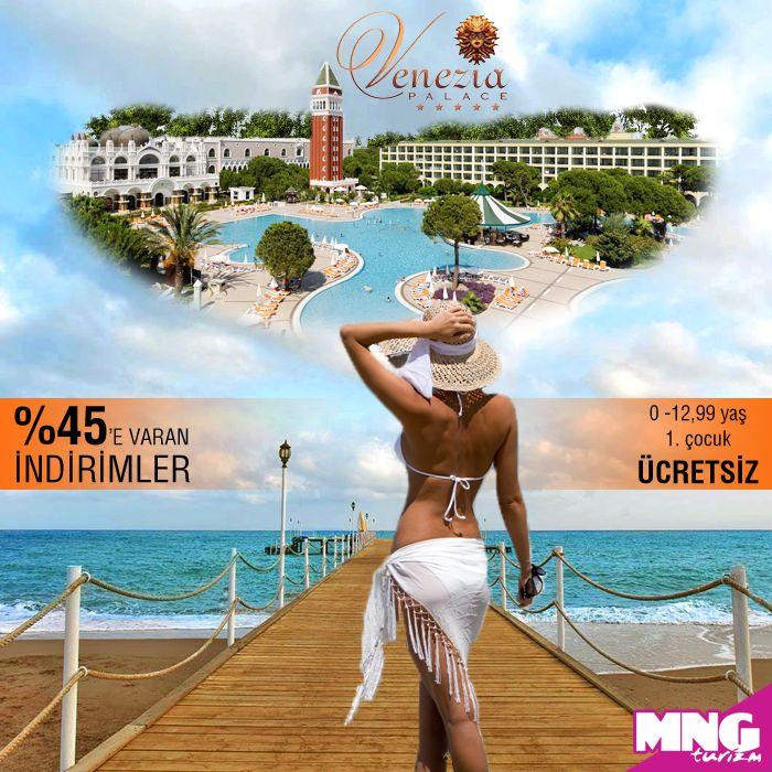 Hayalinizdeki Antalya tatili %45'e varan indirimler ile Venezia Palace Deluxe Resort Hotel'de…  #mngturizm #tatiliste #antalya #veneziapalaceresorthotel #tatil #holiday #travel