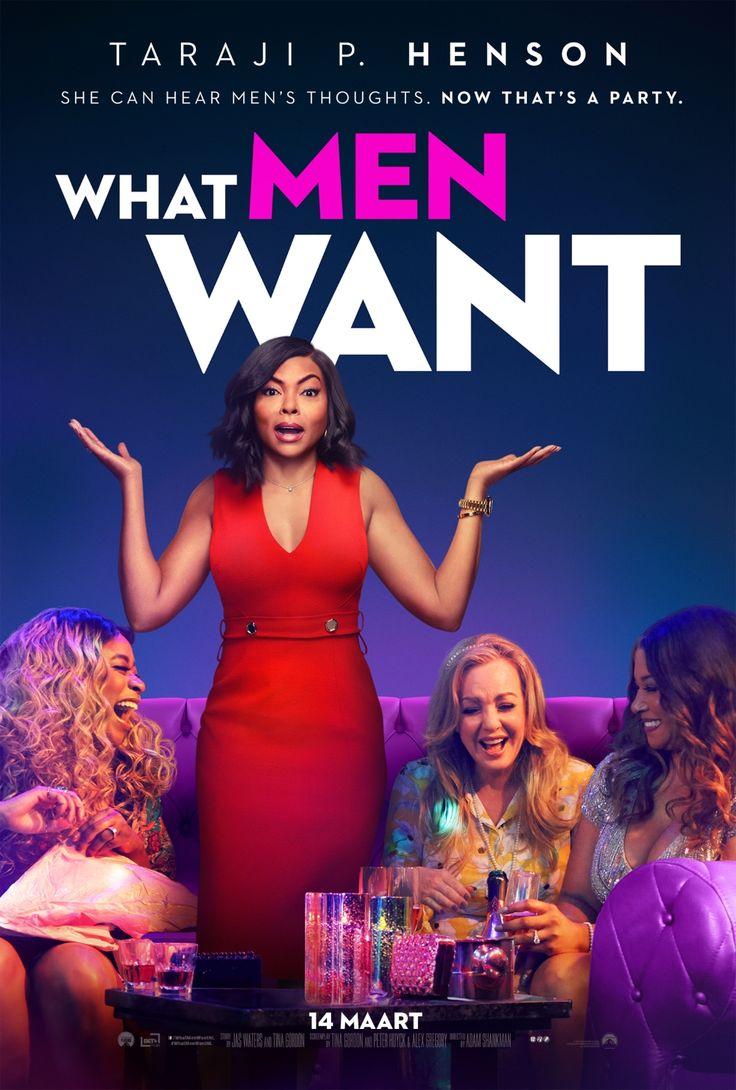 What Men Want – movie poster: teaser-trailer.co…  starring Taraji P. Henson and Tracy Morgan  #WhatMenWant #WhatMenWantMovie