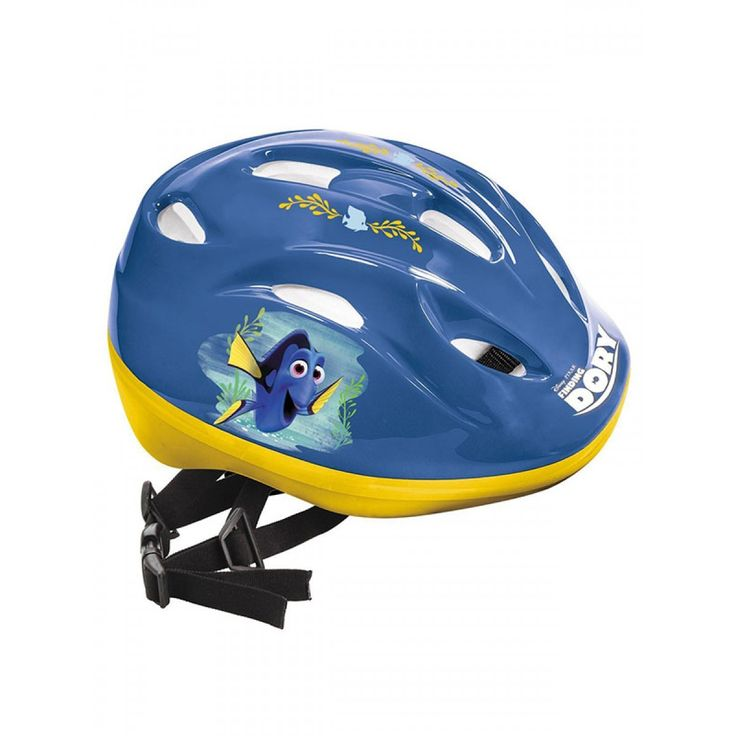 """""""This Finding Dory Helmet has fantastic colourful graphics featuring Dory and Nemo. This helmet is the perfect accompaniment to our fantastic Dory and Nemo scooters too!"""