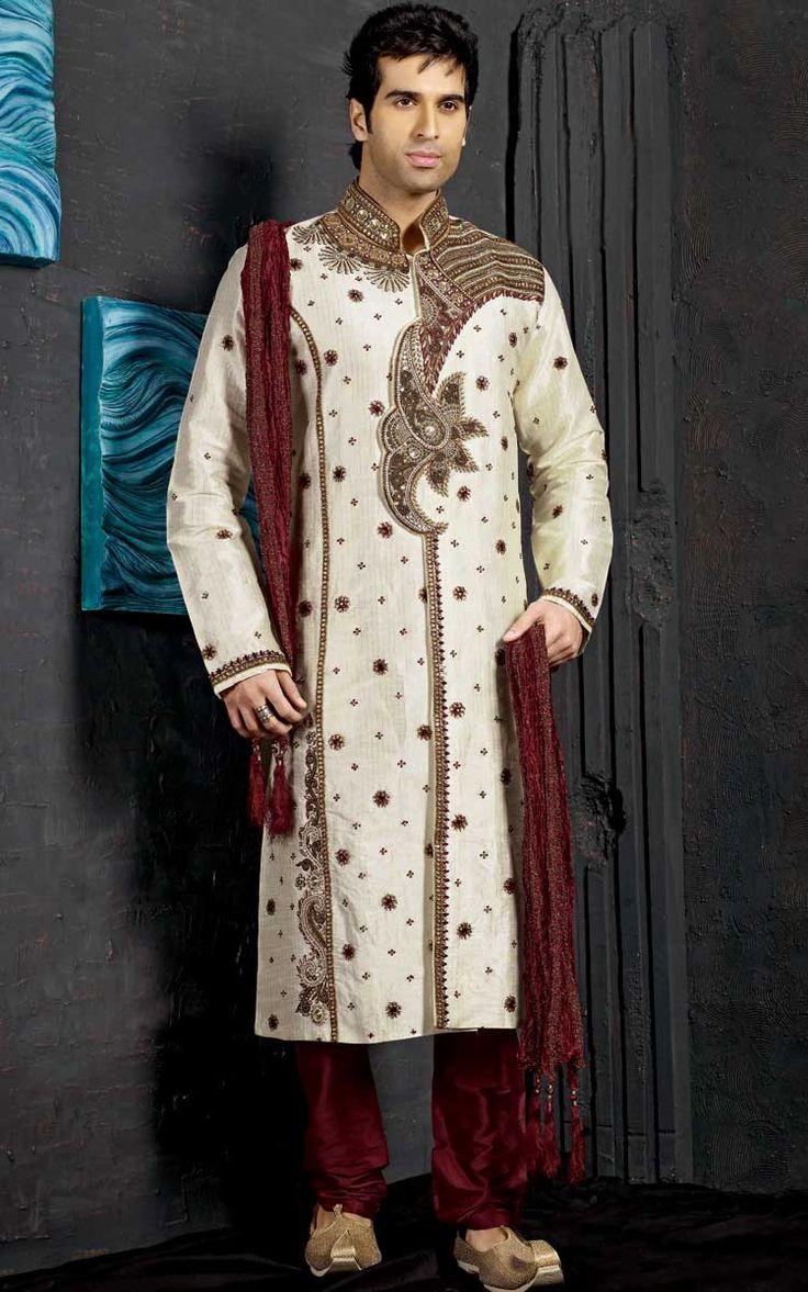 Sherwani Groom Dresses Pinterest Sherwani Groom