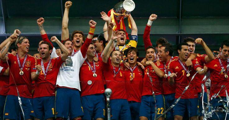 Europameister 2012- Spanien