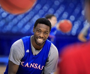 Elijah Johnson. My hero. We wouldn't be playing in this tournament anymore without this man. Rock Chalk!