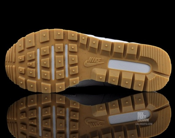 NIKE air waffle trainer leather