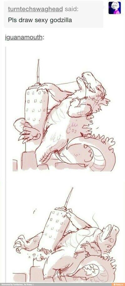 Sexy Godzilla