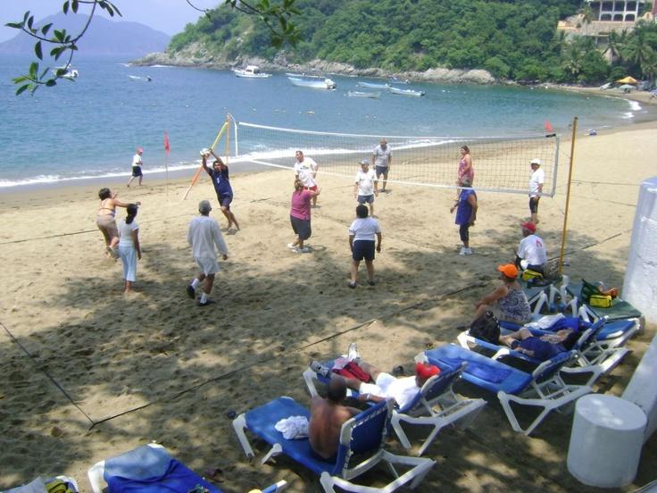 Voleibol Playero- Playa Audiencia.