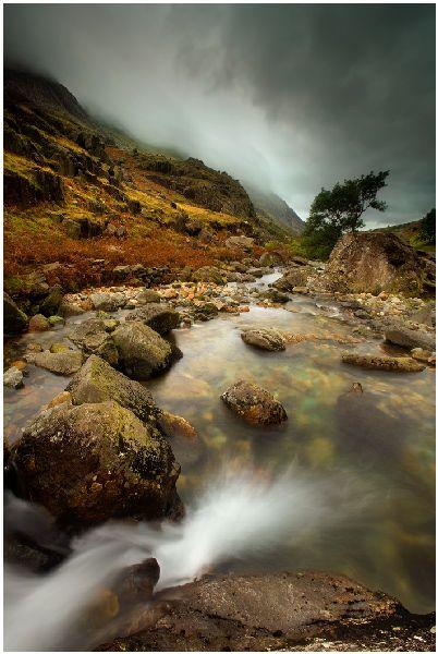 Pass of Llanberis, North Wales
