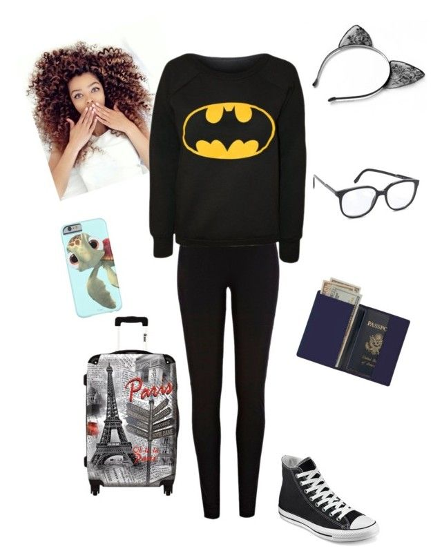 """catching a flight to peru"" by sweetswagger ❤ liked on Polyvore featuring Royce Leather, Converse, River Island, IKASE and STELLA McCARTNEY"