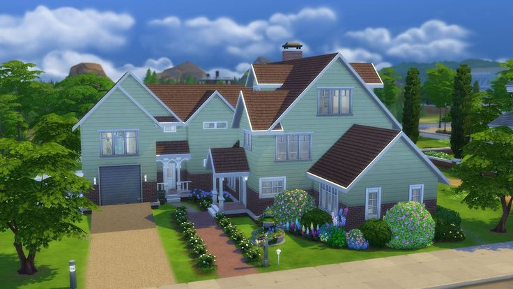 The Kendrick   Residential, 40x30, 4 bed, 5 bath, $146.450. Homey, Child's Play, Good Schools. Packs used: GT, CL, PH, RG, KR, BY. NoCC, NoMOO, play tested.   Gallery Download Link Shell Version: Gallery Download Link   The home for the Kendrick family, it's tailored to their needs, but it will suit any family with teen, child and toddler. The master bedroom is on the ground floor, as is an open space living area with kitchen, dining and family/living room. There's a small sun room that'...