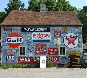 The Joy of Collecting Vintage Porcelain Gas Pump Signs and Oil Signs