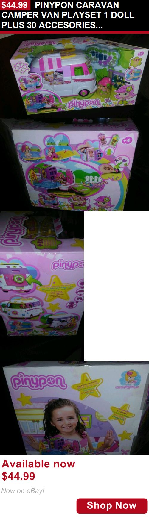 Baby Bottles: Pinypon Caravan Camper Van Playset 1 Doll Plus 30 Accesories New. BUY IT NOW ONLY: $44.99