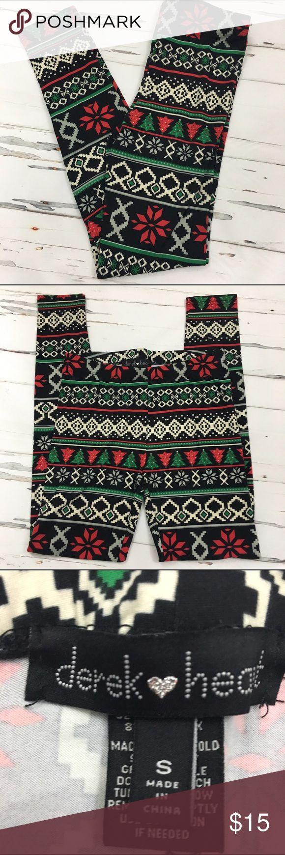 🆕Christmas Tree Design Leggings - NWOT NWOT- Christmas Tree Design Leggings🎄🎄 Derek Heart Pants Leggings