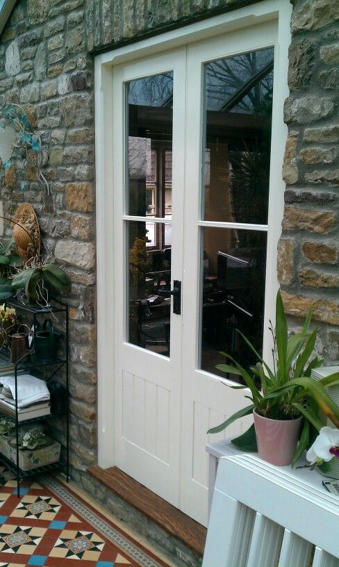 Pair of French doors