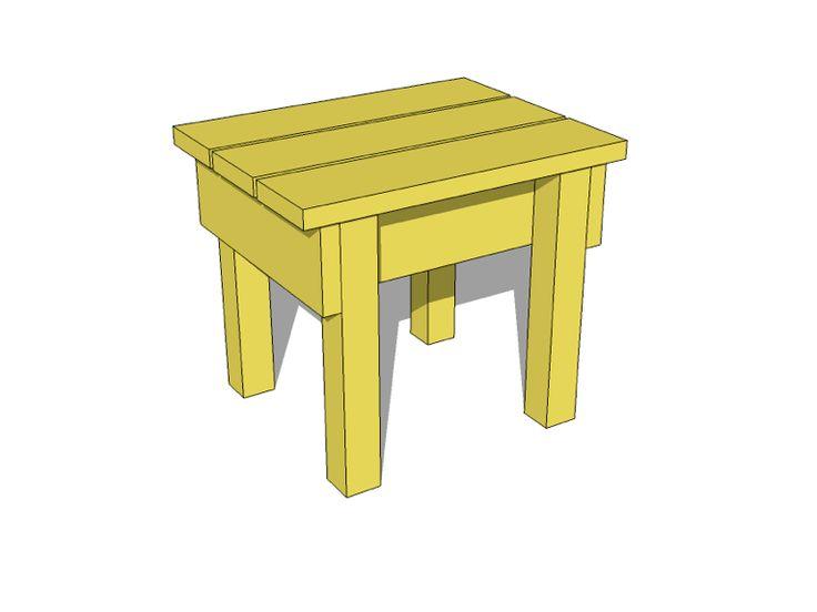 Small Wood Stool Tutorial Wood Stool