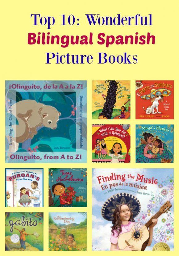 Top 10: Bilingual Spanish Picture Books