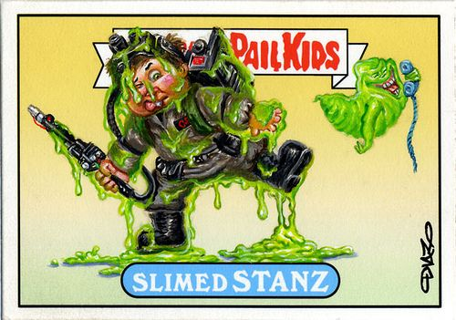 Dan Aykroyd And John Belushi Get A Garbage Pail Kids Tribute