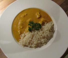 Variation von Mildes Hähnchen-Curry mit Reis  by Thermomix-graz on www.rezeptwelt.de