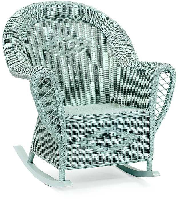 Heirloom Wicker Rocking Chair $606